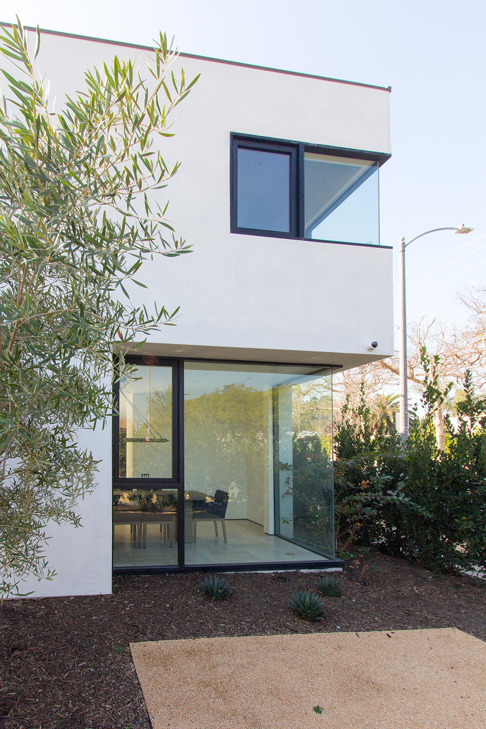 home exterior smooth stucco architecture