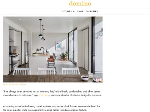Melrose Featured in Domino