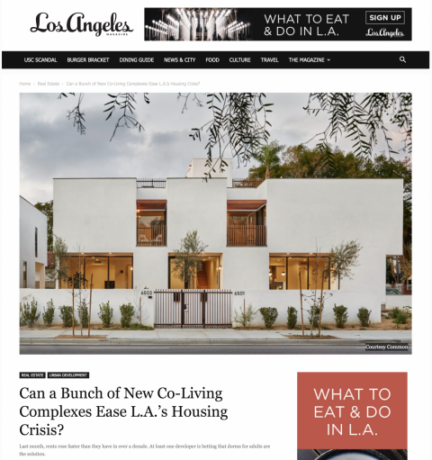Melrose Featured in LA Magazine
