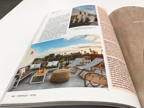 Melrose Featured in May issue of Monocle