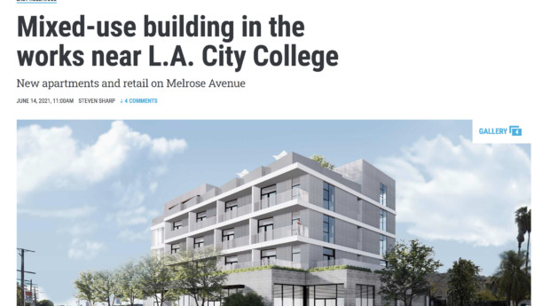 Mixed-Use Melrose II is in the Works — Urbanize LA